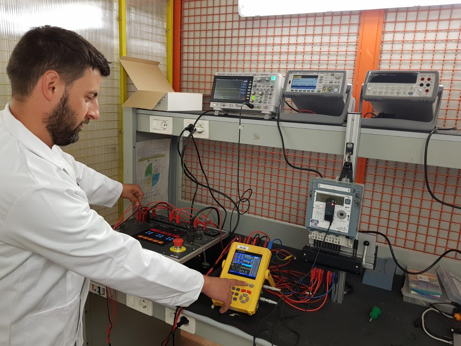 Verifica in laboratorio (Laboratorio Metrologico Ternano)